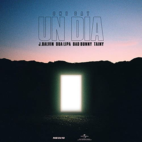 J Balvin - UN DIA (ONE DAY) feat Tainy and Dua Lipa and Bad Bunny